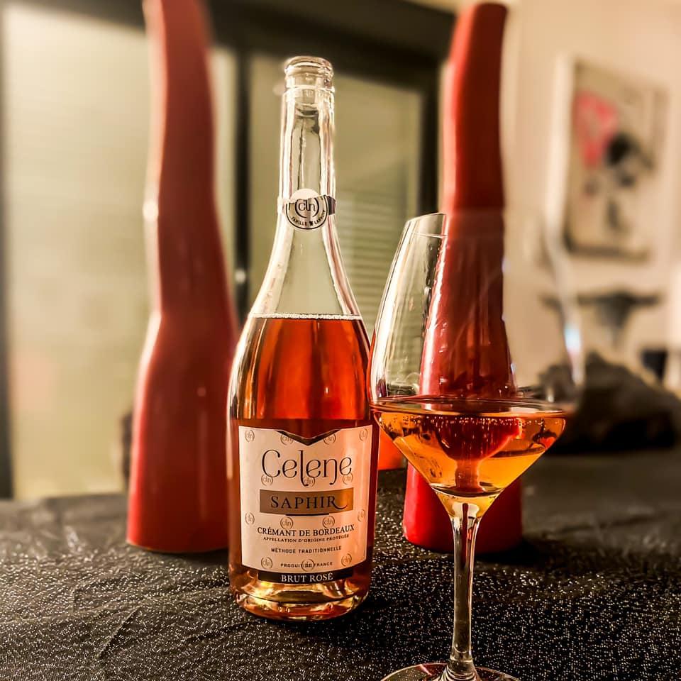 Celene Saphir rosé brut