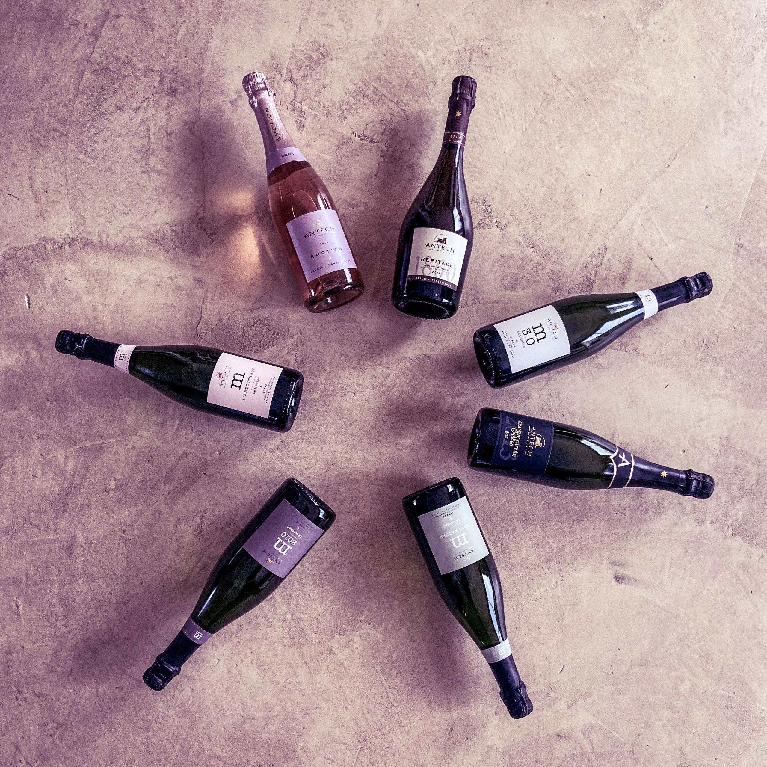 Les vins effervescents de la Maison Antech